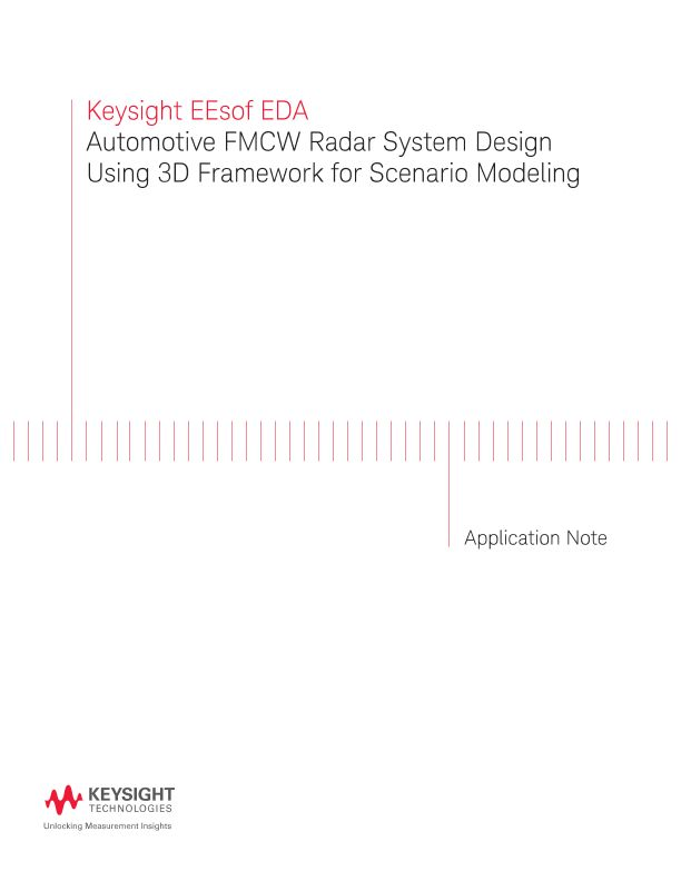 FMCW Radar System Design Using Scenario Modeling