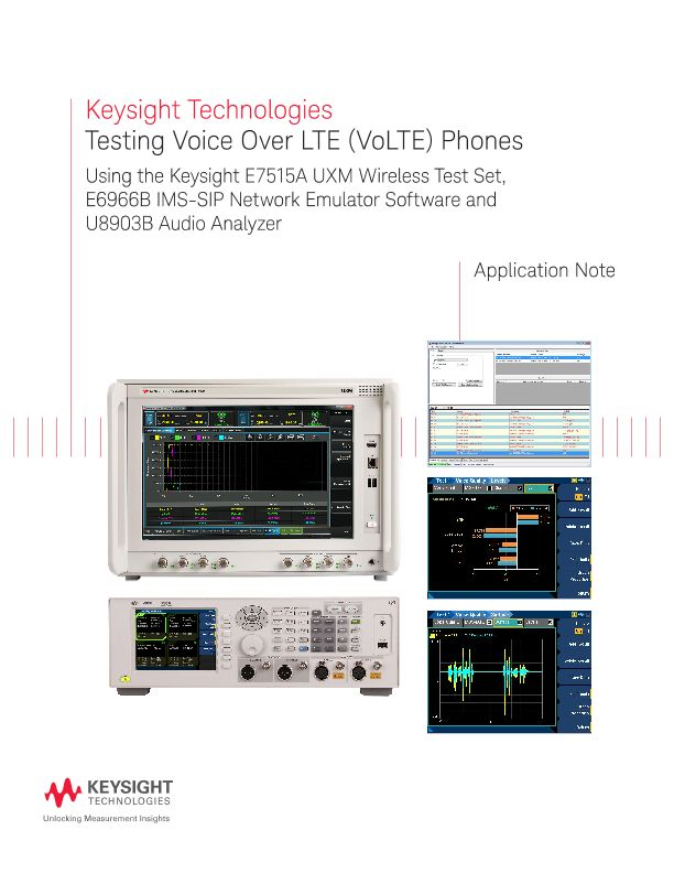 Testing Voice Over LTE (VoLTE) Phones