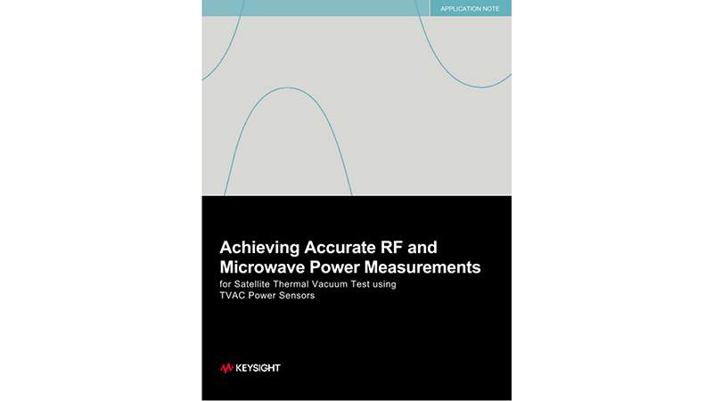 Achieving Accurate RF and Microwave Power Measurements