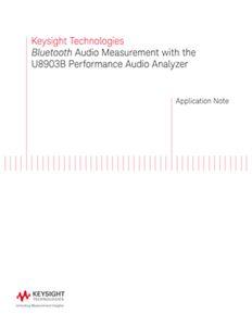 Bluetooth Audio Measurement with Audio Analyzer