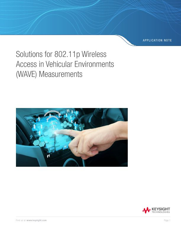 Solutions for 802.11p Wireless Access in Vehicular Environments Measurements