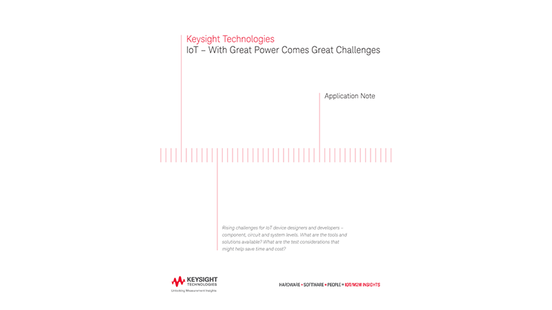 IoT  – With Great Power Comes Great Challenges