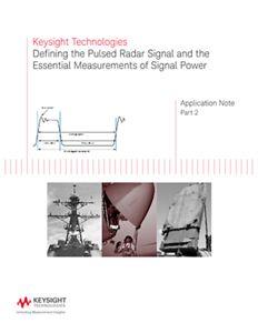 Defining Pulsed Radar Signal and Signal Power Essentials