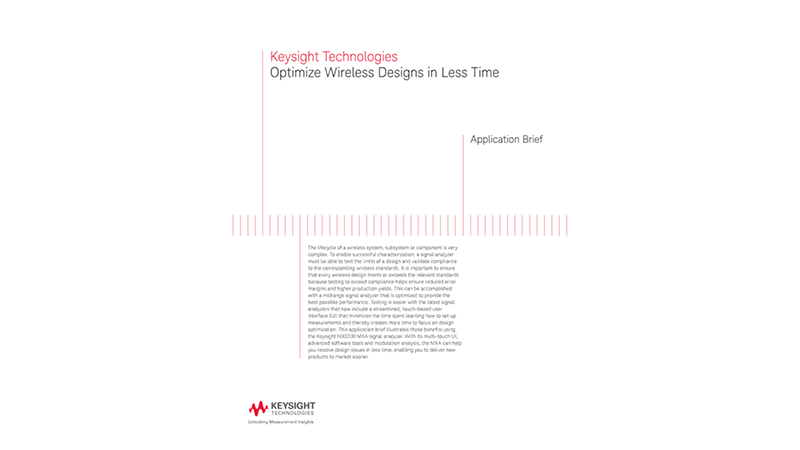 Optimize Wireless Designs in Less Time
