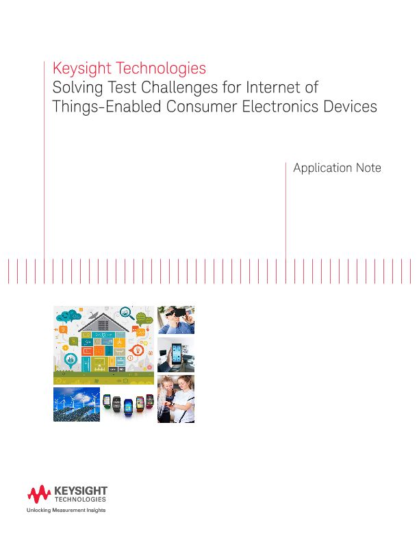 Solving Test Challenges for Internet of Things-Enabled Devices