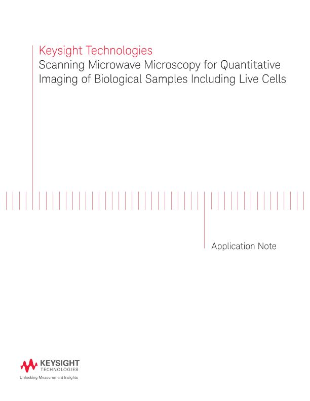 Scanning Microwave Microscopy for Quantitative Imaging