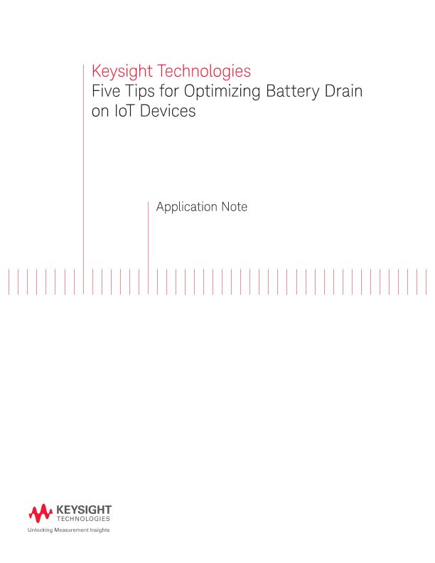 Optimizing Battery Drain on IoT Devices