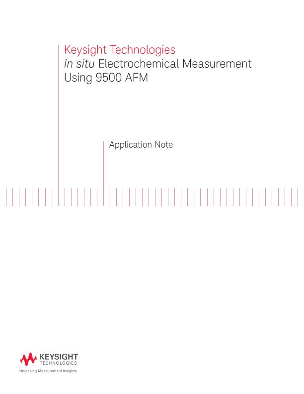 In situ Electrochemical Measurement