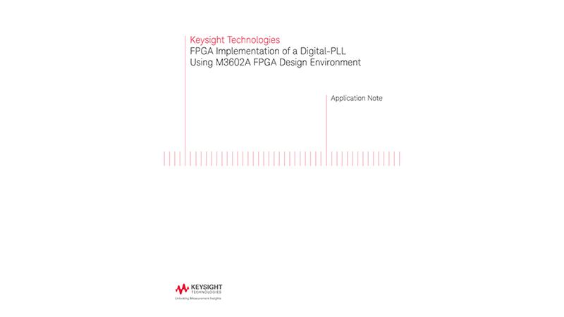 Digital PLL Implementation in FPGA Using FPGAflow