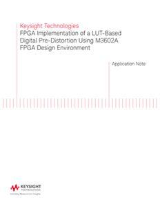 FPGA Implementation of a LUT-based Digital Predistortion
