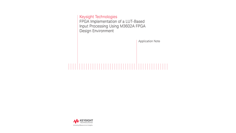 FPGA Implementation of a LUT-based Input Processing