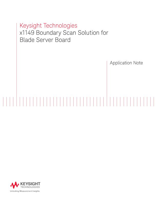 x1149 Boundary Scan Solution for Blade Server Board