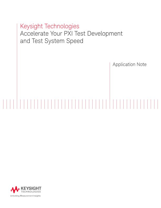 Accelerating Modular Testing System Speed