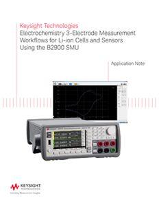 3–Electrode Electrochemical Measurement Techniques