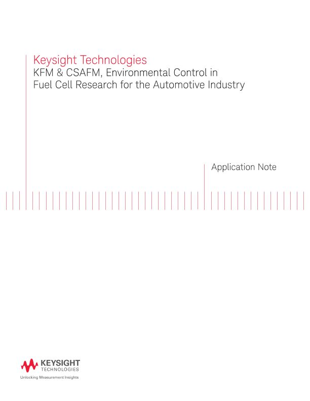 KFM and CSAFM, Environmental Control in Fuel Cell Research