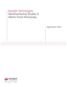 Nanomechanical Studies in Atomic Force Microscopy (AFM)