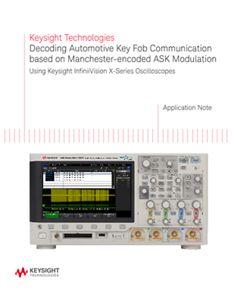 Decoding Automotive Key Fob Communication based on ASK Modulation