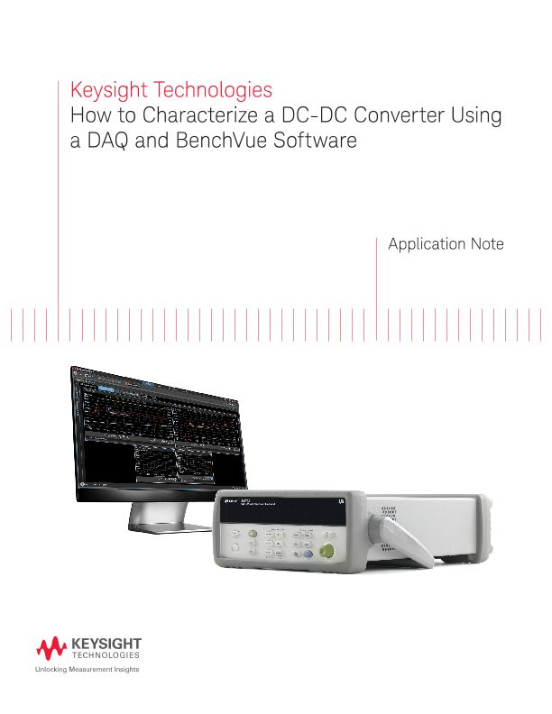 How to Characterize a DC-DC Converter