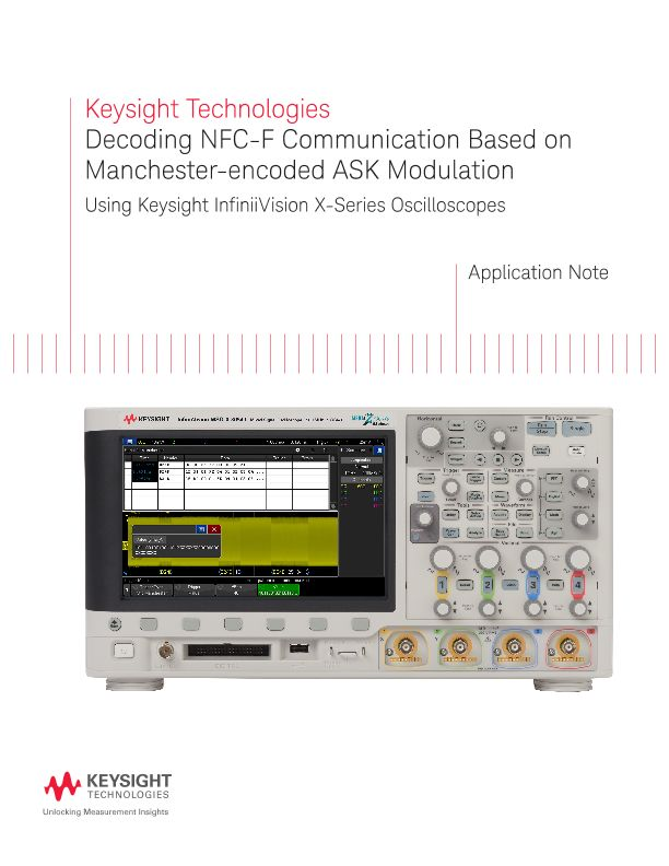 Decoding NFC-F Based on Manchester-encoded ASK Modulation
