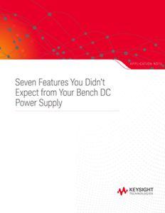 Bench DC Power Supply Testing