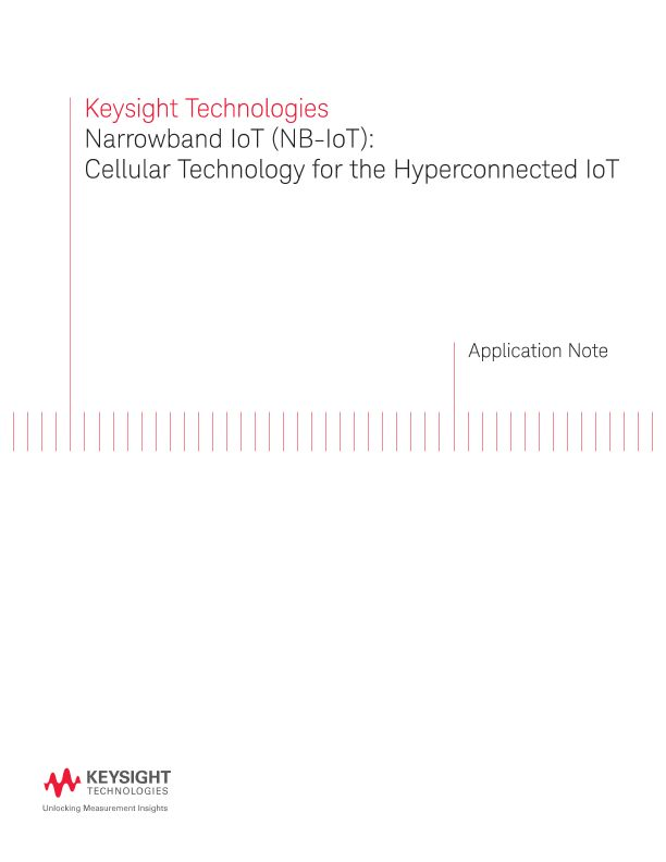 NB IoT – Cellular Technology for the Hyperconnected IoT