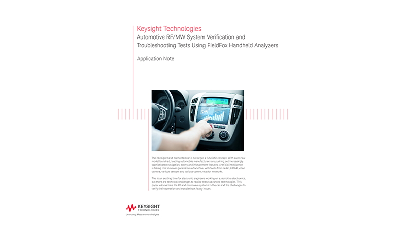 Automotive System Verification and Troubleshooting