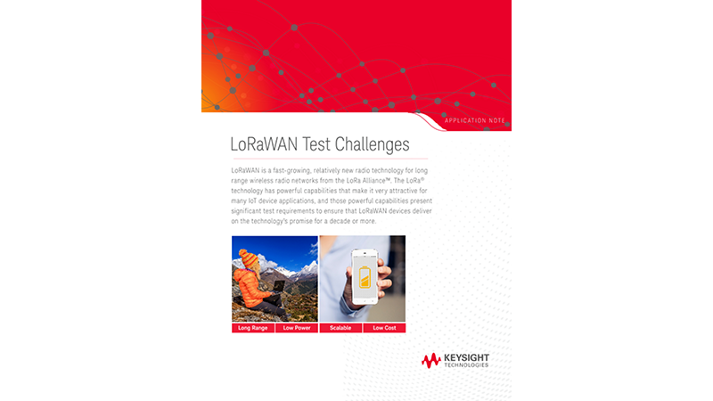 LoRaWAN Test Challenges and Solutions
