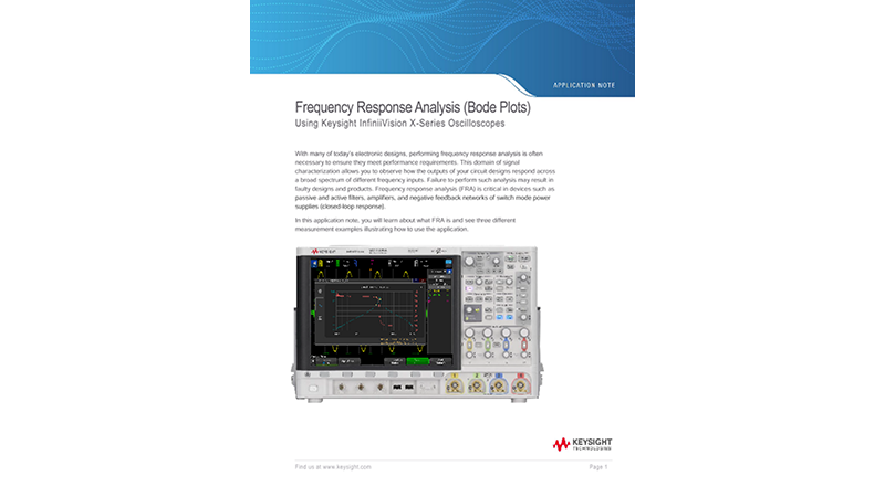 What is Frequency Response Analysis