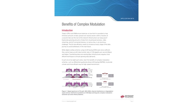 Complex Modulation Benefits