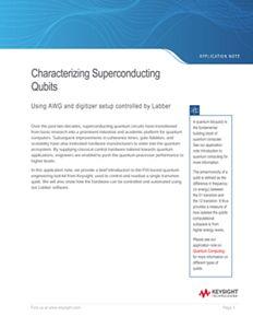 Characterizing Superconducting Qubits