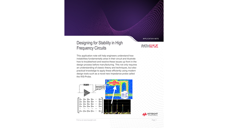 Designing for Stability in High Frequency Circuits