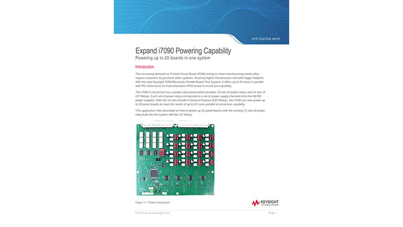 Expand i7090 Powering Capability