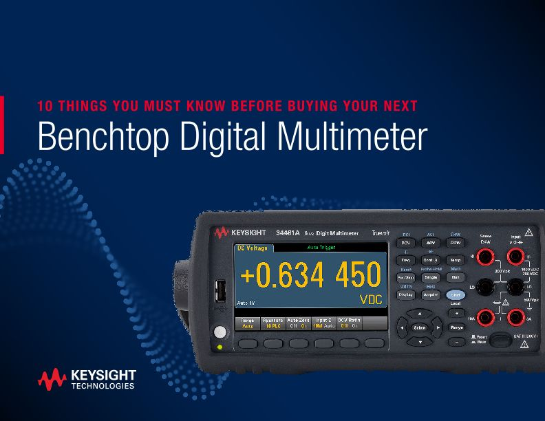 Considerations for Buying a Benchtop Digital Multimeter