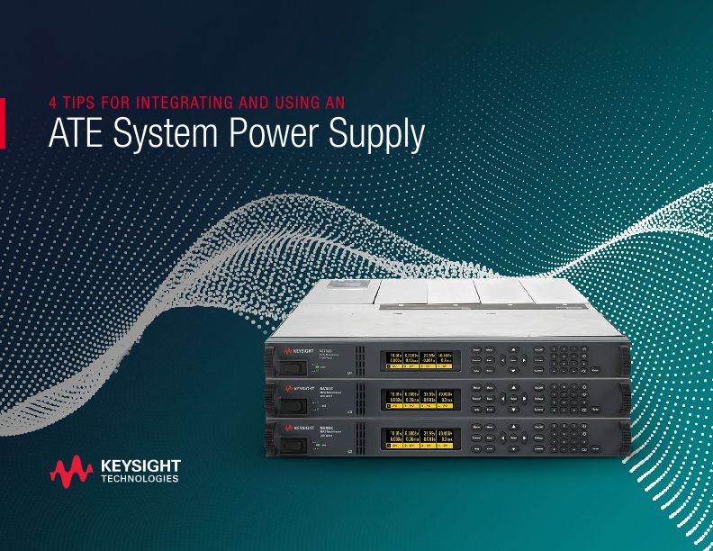 ATE System Power Supply Integration – 4 Tips