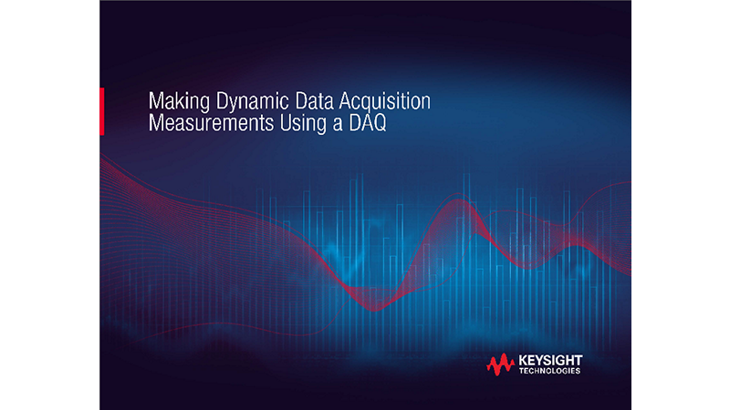 Making Dynamic Data Acquisition Measurements Using a DAQ