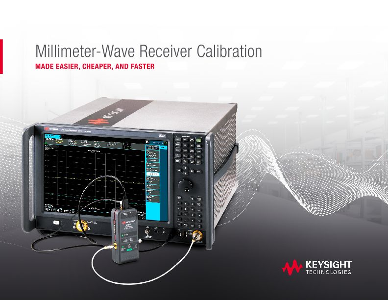 Millimeter-Wave Receiver Calibration Made Easier, Cheaper, and Faster