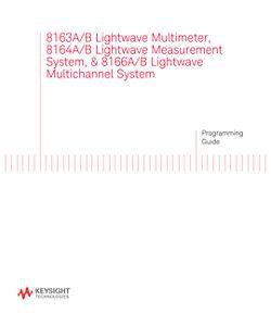 8163A/B, 8164A/B, 8166A/B Programming Guide