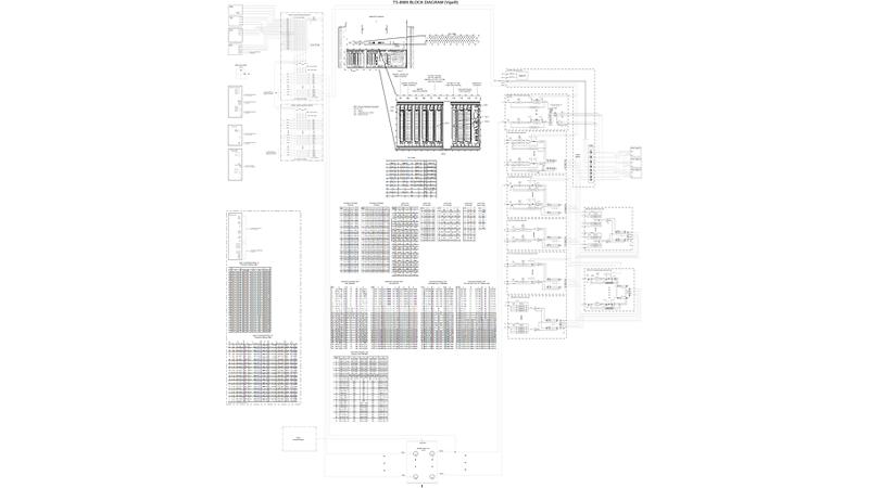 TS-8989 System Block Diagram