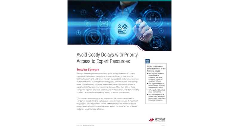 Avoid Costly Delays with Priority Access to Expert Resources