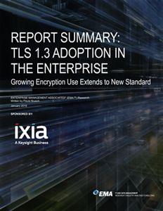 Report Summary: TLS 1.3 Adoption In The Enterprise