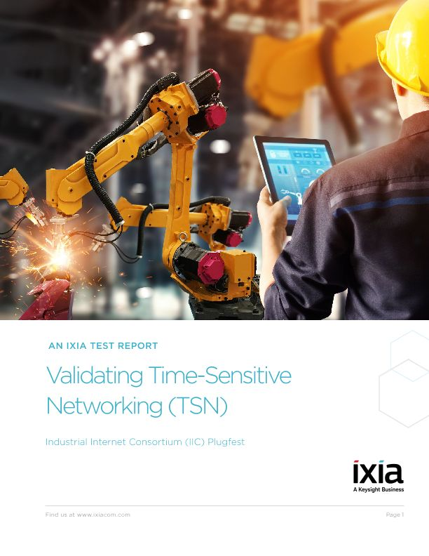 Validating Time-Sensitive Networking (TSN) - An IIC Plugfest Report