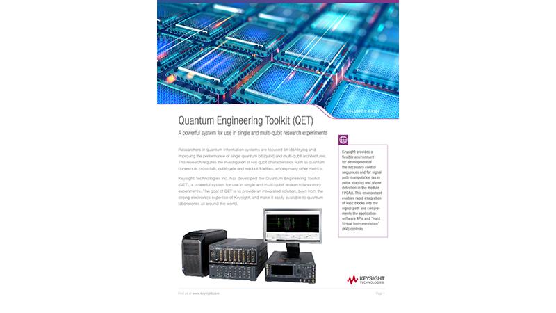 Quantum Engineering Toolkit (QET)