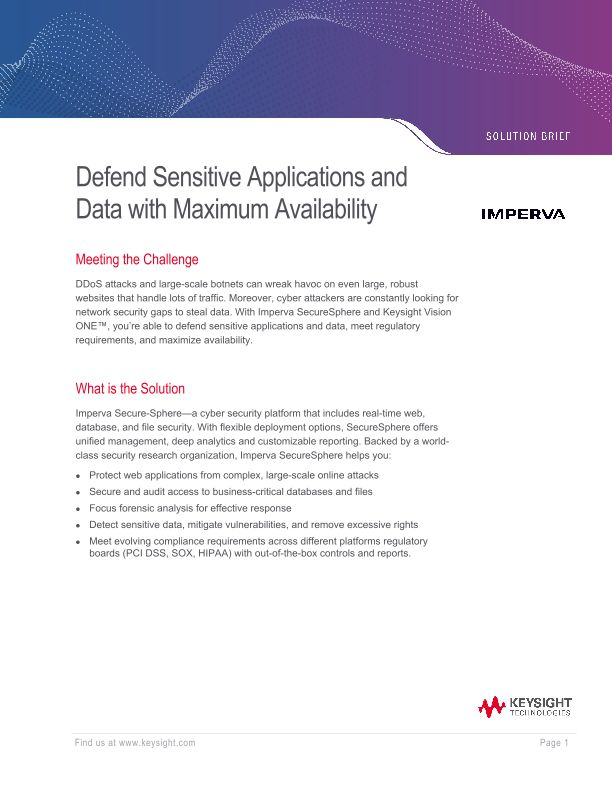 Defend sensitive applications and data with maximum availability