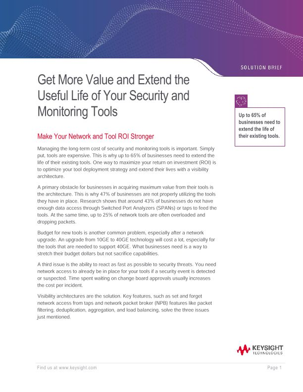 Get More Value from Security and Monitoring Tools