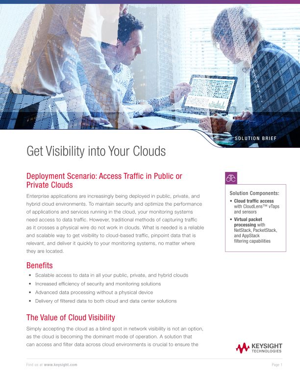 Get Visibility into Your Clouds