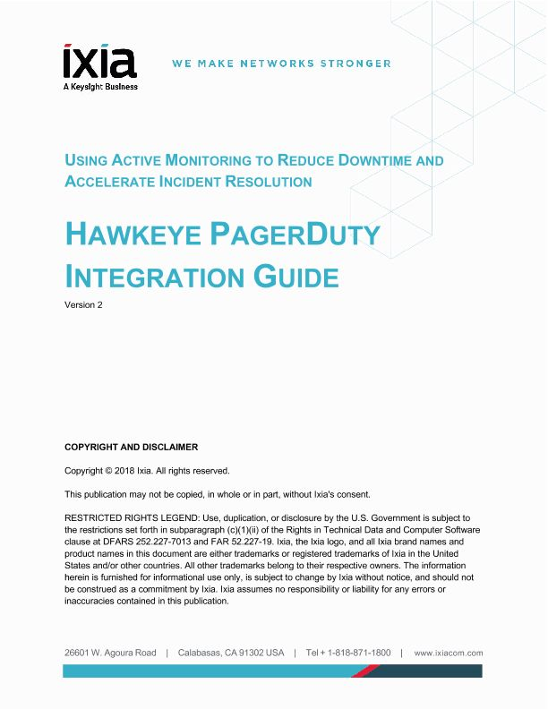 Hawkeye - PagerDuty Incident Management