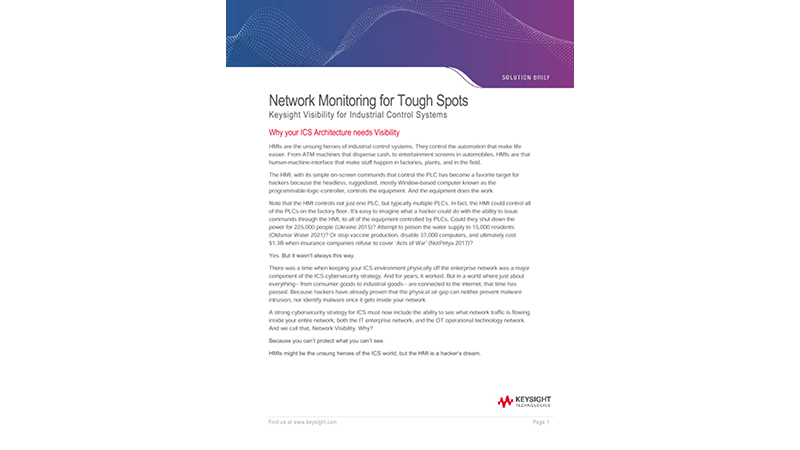 Network Monitoring for Tough Spots