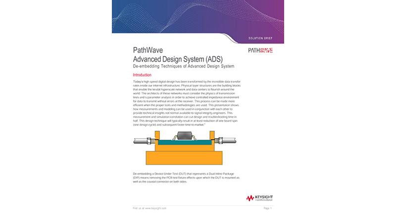 PathWave Advanced Design System (ADS)