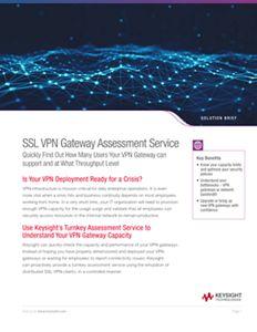 SSL VPN Gateway Assessment Service