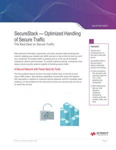SecureStack- Optimized Handling of Secure Traffic